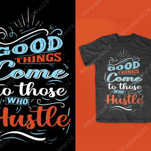 Typographic T-shirt Design.